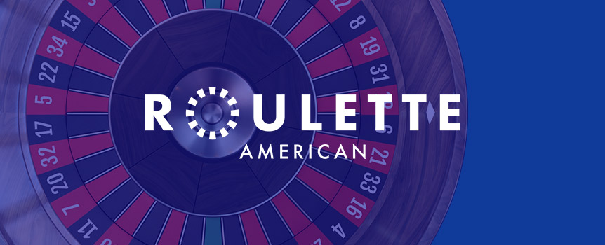 "There's nothing quite like the sound of a ball rolling around a roulette table to get people pumped up at a casino, and our online casino is no exception. Optimized for mobile, tablet and web play, our American Roulette can be enjoyed while on the go, and with a new ""double up"" button, you can double your bets when you hit a hot streak. Go ahead – have a seat, toss some chips on your favorite number or preferred color, and get the ball rolling for a chance to win some serious cash."