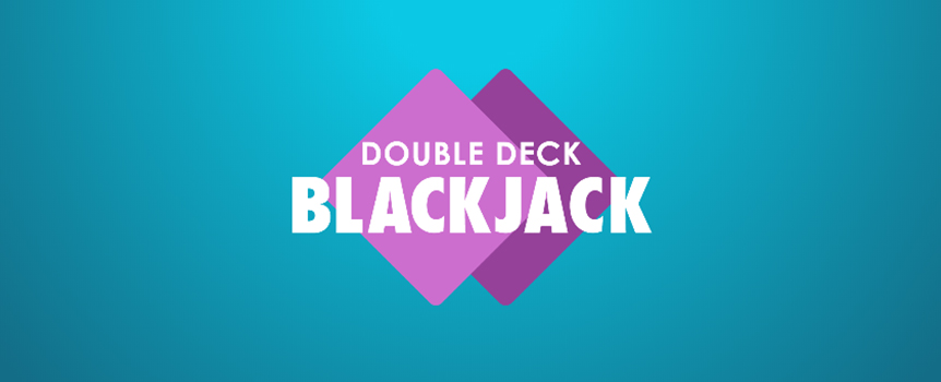 With only two decks in the shoe, Double Deck Blackjack is your best bet for a profitable blackjack run. But you'll have to beat the Dealer first. See if you can outscore him without going over 21 points.