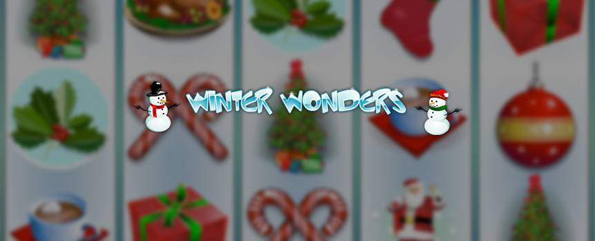 You better watch out, you better not cry, better not pout, we're telling you why: Santa Claus is coming to town in this 5-reel slot game, which celebrates the Christmas spirit all year round. Join jolly ol' Father Christmas and his reindeer as you spin into a winter wonderland where it's always Christmas. There's always the chance of finding tons of gifts and winnings under your tree if you've been good this year. Soak up all the snowy fun as this slot game's nostalgic visuals will make you feel like reaching for that warm cup of cocoa. With symbols including a Christmas Turkey, Candy Canes, Red Candles, Christmas Ornaments, a fully decorated Christmas Tree, and Mistletoe, it's always the season to be jolly!